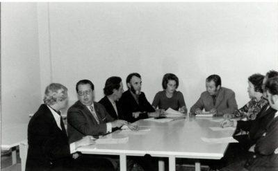 Johtokunnan kokous -72
